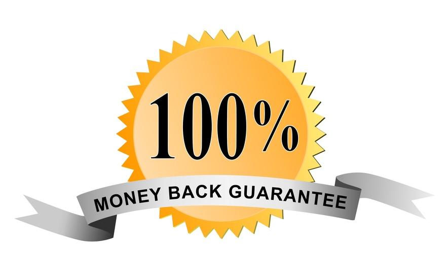 100% Moneyback